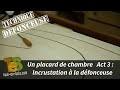 TECHNIQUES DÉFONCEUSE : apprenez à incruster des baguettes pour relooker vos portes de placard
