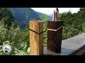 Comment fabriquer un pot à crayon moderne - Travail du bois !