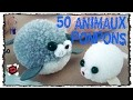 50 Animaux en ponpons