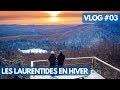 DORMIR DANS UN REFUGE au QUÉBEC en hiver - VLOG Les Laurentides