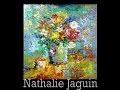 """Millefiori"", still life, palette knife oil painting, by Nathalie JAGUIN"