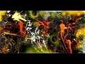 "Abstract painting démo vidéo by Samuel Chevalier ""Déchirure"""