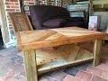 Table basse en bois de palette et de récupération