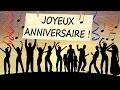 JOYEUX ANNIVERSAIRE - Carte d'anniversaire animée