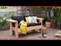 Fabriquer un salon de jardin en bois, tutoriel bricolage