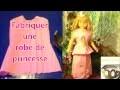 Fabriquer robe de princesse pour petite fille | Patron facile robe papier crépon