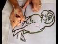 perroquet à faire vous meme en dentelle aux fuseaux (ladentelledelila.wifeo.com)