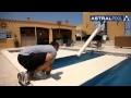 Pose volet automatique pour piscine ECA - BAHIA