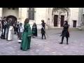 Apprendre l'épée avec les chevaliers!