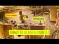 Comment faire un meuble pour la scie à onglets