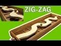 Zig Zag Jeu geant en bois
