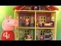 Peppa Pig La Nouvelle Maison Familiale Sons et Lumières Peppa's House Lights and Sounds Jouet
