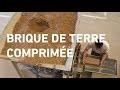 Construire en terre crue — Briques de terre comprimeÌ�e
