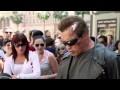 Quand Arnold Schwarzenegger se déguise en Terminator pour une caméra cachée flippante !