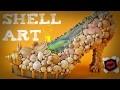 Shell art: déco en coquillages vintage