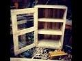 Fabrication d'une armoire en palettes / Make a pallets wood cabinet