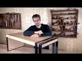 Design et réalisation d'une table basse