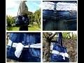 DIY Transformer un jean en sac à main