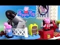 Peppa Pig Pirate Ship Building Blocks Jeu de Construction Bateau de Pirate