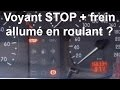 Voyant STOP + frein qui s'allume tout seul en roulant - fuite de liquide de frein - Renault Clio 2