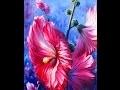 Comment peindre une Rose Trémiére