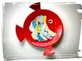 poisson d'avril assiette en carton