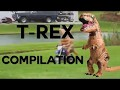 T-REX COSTUME GONFLABLE COMPILATION