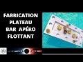 PLATEAU BAR APÉRO FLOTTANT