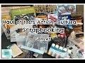Action et Cultura: Haul et tests Scrapbooking Sem.45
