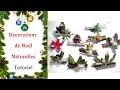 DIY Décorations de Noël Naturelles en Bois