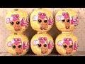 Poupées LOL Surprise Pets Animaux Boule Dorée Rare Chiens Chats Lapins
