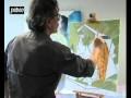 Les premiers pas du cubisme avec la peinture Studio Acrylics de Pébéo
