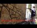 Enduit  mur décor fausse pierre www.maconnerie-martinez.fr