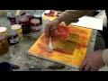 Atelier de créativité en peinture acrylique. Collages et textures, 3ème partie