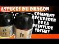 Astuces du Dragon : Remettre en état un pot de peinture sèche