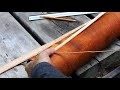 Fabrication d'un carquois en écorce de bouleau