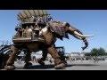 Elephant mécanique géant de Nantes