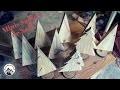 Fabrication de sapins de Noël en bois miniatures - JOYEUX NOËL !