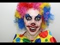 Maquillage d'Halloween : Clown diabolique