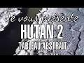 """""""HUTAN 2"""" Tableau en texture 100cm x 50cm"""