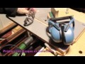 Defonceuse sous table - Rond - Gabarit - video 83
