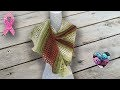 Châle queue de dragon crochet Bonus Présentation nouvelles gammes!