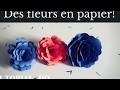 DIY - TUTO Des fleurs en papier!