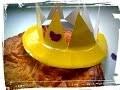 couronne epiphanie assiette en carton - activité manuelle