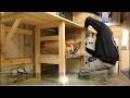 fabrication d'un plan de travail en bois de palette pour l'atelier