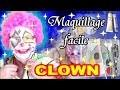 Maquillage de CLOWN et déguisement facile