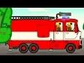Gros véhicules pour petits enfants - Camion de pompiers