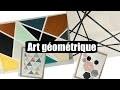 DIY tableaux d'art géométrique