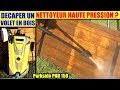 decaper un volet en bois avec un nettoyeur haute pression lidl parkside phd 150 - lasure ancienne