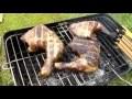 poulet boucané au barbecue, comment faire boucané du poulet ou du poisson, pour le BOUILLON D'AWARA